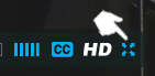 Image of full screen Vimeo control